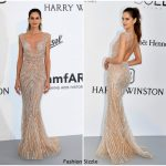 Izabel Goulart  In Zuhair Murad Couture 2017 amfAR Gala Cannes