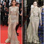 Izabel Goulart In Zuhair Murad Couture – 'L'Amant Double (Amant Double)' Cannes Film Festival Premiere