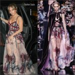 Jennifer Lopez  In Elie Saab –  Out in New York City