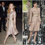 Jessica Chastain  In Chanel Couture – Vanity Fair & Chanel  Cannes Film Festival  Dinner