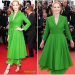 Jessica Chastain In Christian Dior Couture – 'The Meyerowitz Stories' Cannes Film Festival Premiere