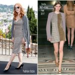 Jessica Chastain   In Stella MaCartney – Mayor's Aioli  At  Cannes Film Festival
