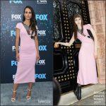 Jordana Brewster In Roland Mouret – 2017 FOX Upfront