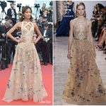 Jourdan Dunn  In Elie Saab  – 'The Killing Of A Sacred Deer' Cannes Film Festival Premiere