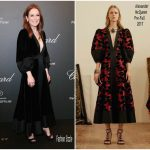 "Julianne Moore In  Alexander McQueen -Chopard ""Space Party"" at Port Canto in Cannes"