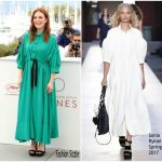 Julianne Moore In Sonia Rykiel  – 'Wonderstruck' Cannes Film Festival Photocall