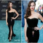 Kaya Scodelario In Dolce & Gabbana – 'Pirates Of The Caribbean: Dead Men Tell No Tales' LA Premiere