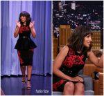 Kerry Washington  In Michael Kors – Tonight Show Starring Jimmy Fallon