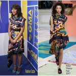 Kerry Washington  In Peter Pilotto  – Good Morning America