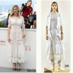 "Kirsten Dunst  In Loewe – The "" Beguiled ""Cannes Film Festival Photocall"