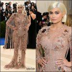 Kylie Jenner In Atelier Versace – 2017 Met Gala