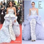 Lana El Sahely  In Ralph and Russo – 'The Killing Of A Sacred Deer' Cannes Film Festival Premiere