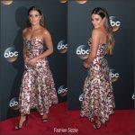 Lea Michele In J. Mendel – 2017 ABC Upfront