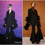 Li Yuchun In Ellery  At Cannes Film Festival Opening Gala Dinner