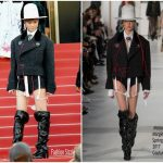 Li Yuchun In Maison Margiela Couture – 'Ismael's Ghosts' Cannes Film Festival Premiere