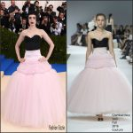 Lily Collins In Giambattisa Valli Couture – 2017 Met Gala