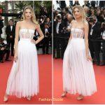 Lily Donaldson In Dior  – 'Loveless (Nelyubov)' Cannes Film Festival Premiere