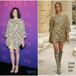 Marion Cotillard​  In Chanel  – Cannes 2017 Opening Gala Dinner