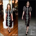 Michelle Monaghan In Mary Katrantzou  At Hulu Upfront Brunch