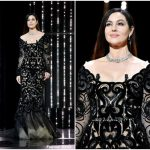 Monica Bellucci  In Dolce & Gabbana – 2017 Cannes Film Festival Closing Ceremony
