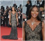 Naomi Campbell  In Atelier Versace  – Cannes Film Festival 70th Anniversary Celebration