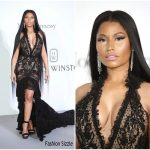 Nicki Minaj In Roberto Cavalli Couture – 2017 amfAR Gala Cannes