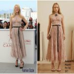 Nicole Kidman  In Alexander McQueen – The Beguiled Cannes Film Festival Photocall