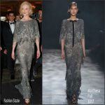 Nicole Kidman In Marchesa – The Bodrum Hotel Opening