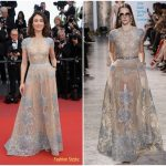 Olga Kurylenko In Elie Saab Couture – 'The Meyerowitz Stories' Cannes Film Festival Premiere