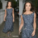 Pippa Middleton In Erdem  At ParaSnow Ball