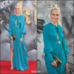 "Poppy Delevingne In Elie Saab – "" King Arthur "" London Premiere"