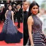 Praya Lundberg In Rami Kadi Couture – 'L'Amant Double (Amant Double)' Cannes Film Festival Premiere