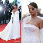 Rihanna In Christian Dior Couture  At  'Okja' Cannes Film Festival Premiere