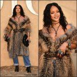 Rihanna  In Dior  – Christian Dior Cruise 2018  Show