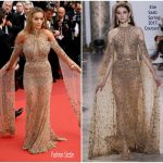 Rita Ora In Elie Saab  – Cannes Film Festival 70th Anniversary Celebration