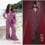 Salma Hayek In Gucci – Cannes Film Festival  70th Anniversary Celebration