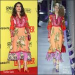 Salma Hayek In Gucci – 'Como Ser Un Latin Lover' Mexico City Premiere