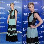 Scarlett Johansson  In Elie Saab – Planned Parenthood 100th Anniversary Gala