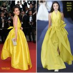 Shu Qi  In Alexis Mabille   – Cannes Film Festival 70th Anniversary Celebration