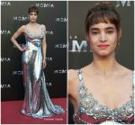 Sofia Boutella In Miu Miu  At The Mummy Madrid Premiere