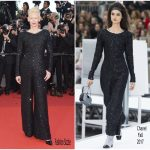 Tilda Swinton In Chanel – Cannes Film Festival 70th Anniversary Celebration