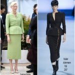 Tilda Swinton In Haider Ackermann – 'Okja' Cannes Film Festival Photocall