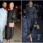 Tilda Swinton  In Loewe – Vanity Fair  & Chopard Cannes Dinner