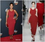 Tracee Ellis Ross  In Ryan Roche – 2017 ABC Upfronts in New York