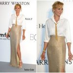 Uma Thurman  In Armani Prive  – 2017 amfAR Gala Cannes
