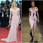Uma Thurman In Atelier Versace – 'Ismael's Ghosts' Cannes Film Festival Premiere