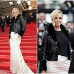 Uma Thurman  In Giuseppe Zanotti    – 'Loveless (Nelyubov)' Cannes Film Festival Premiere