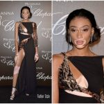 Winnie Harlow In Roberto Cavalli At Chopard x Rihanna Dinner Party