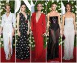 2017 Tony Awards  Redcarpet