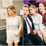 Kate Mara In Zuhair Murad  At The Late Late Show with James Corden